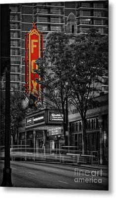 Fabulous Fox Theater Metal Print by Doug Sturgess