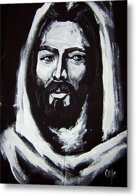 Face Of Christ Ccsa Metal Print