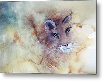 Face With In Metal Print by Lynne Parker