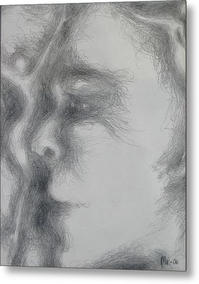 Face With Women Metal Print