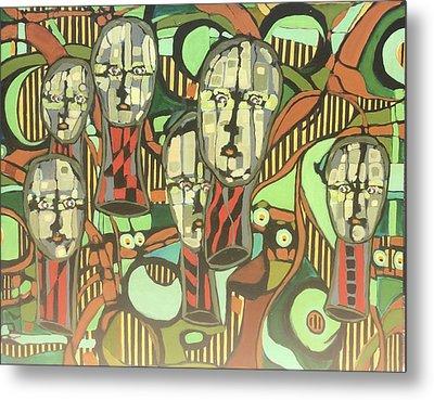 Faces #22 Metal Print