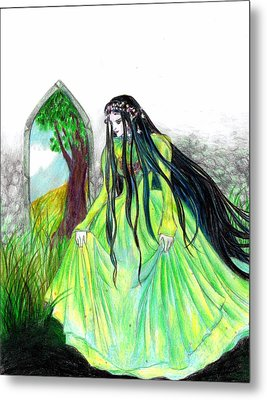 Faerie Queen Metal Print by Rebecca Tripp
