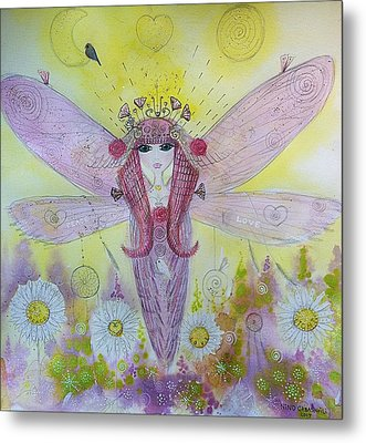 Fairy Messenger  Metal Print