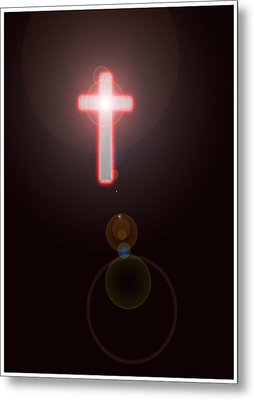 Faith Metal Print by Richard N Watkins