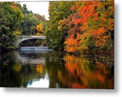 Fall Colors In New York State Metal Print