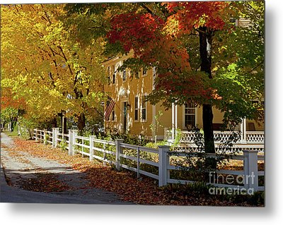Fall, Hancock Nh Metal Print