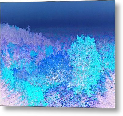 Fall Landscape, New Hampshire, Usa Metal Print by Stockbyte