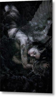 Fallen Metal Print by Cambion Art