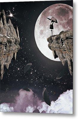 Falling Metal Print by Mihaela Pater