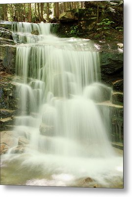 Falling Waters Metal Print by Roupen  Baker