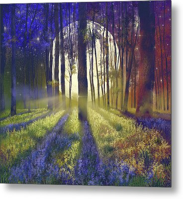 Fantasy Forest 4 Metal Print