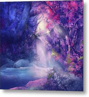Fantasy Forest 5 Metal Print