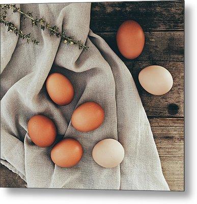 Metal Print featuring the photograph Farm Fresh by Kim Hojnacki