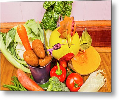 Farm Fresh Produce Metal Print by Jorgo Photography - Wall Art Gallery