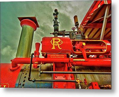 Farm Ready Metal Print by Dale Stillman