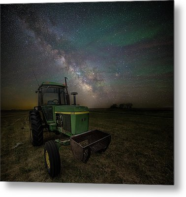 Metal Print featuring the photograph Farming The Rift 7 by Aaron J Groen