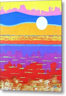 Fauvist Sunset Metal Print