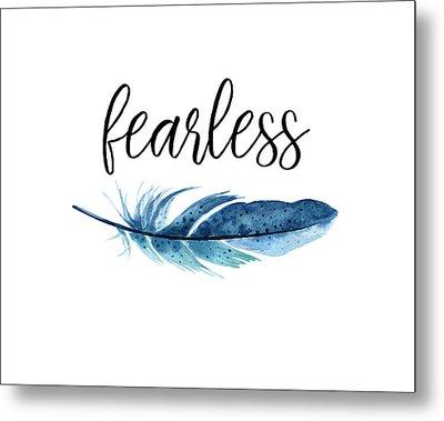 Fearless Metal Print by Jaime Friedman