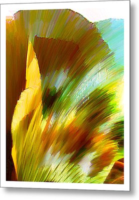 Feather Metal Print by Anil Nene