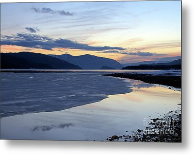February At Dusk 5 Metal Print by Victor K