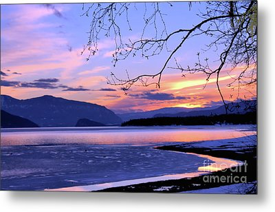 February Sunset 2 Metal Print by Victor K