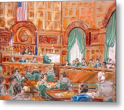 Federal Court Metal Print