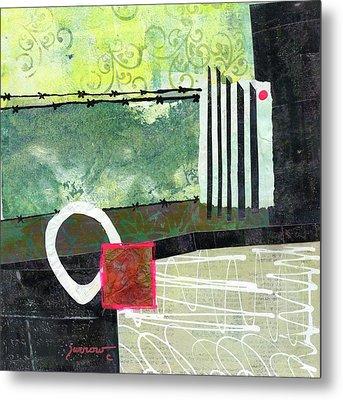 Fences Metal Print by Sue Furrow