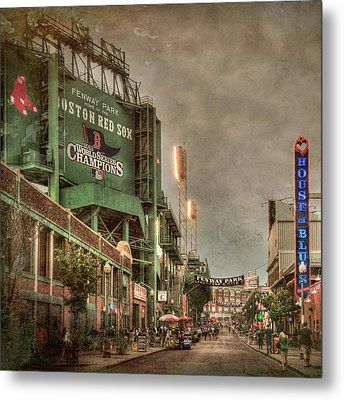 Fenway Park - Boston Red Sox - Lansdowne St Metal Print