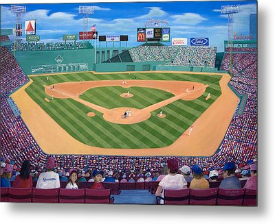 Fenway Park Metal Print by Richard Ramsey