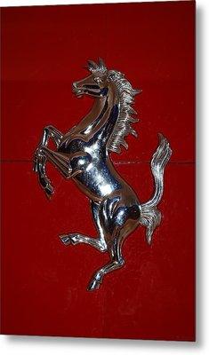Ferrari Stallion Metal Print by Rob Hans