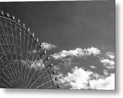 Ferris Wheel Metal Print by Kiyoshi Noguchi