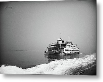 Ferry Metal Print by Joseph Westrupp
