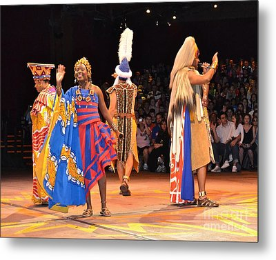 Festival Of The Lion King Metal Print