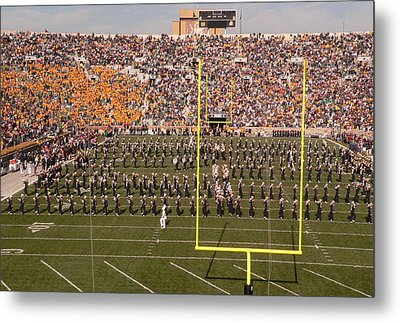 Fighting Irish Marching Band Metal Print