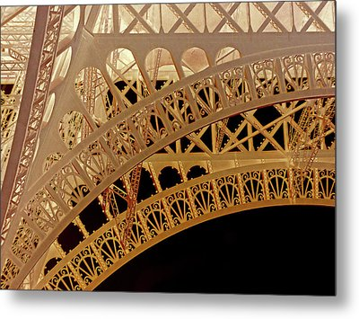 Filigree Metal Print