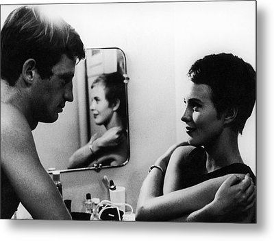 Film: Breathless, 1960 Metal Print