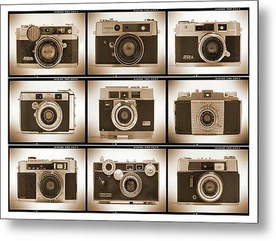 Film Camera Proofs 2 Metal Print by Mike McGlothlen