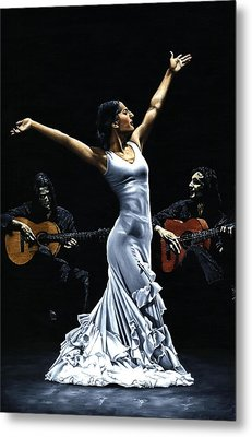 Finale Del Funcionamiento Del Flamenco Metal Print