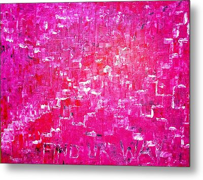 Metal Print featuring the painting Find Ur Way by Piety Dsilva