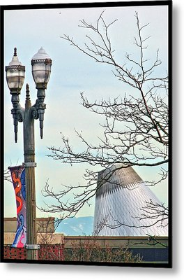 Metal Print featuring the photograph Finial Faux Pas by Chris Anderson