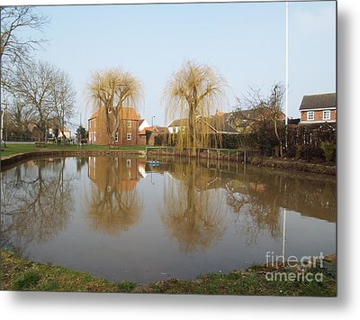 Finningley Pond Metal Print