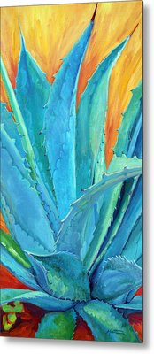 Fire And Ice 2 Metal Print by Athena  Mantle