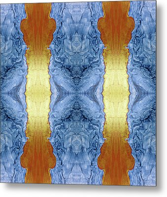Fire And Ice - Digital 1 Metal Print by Otto Rapp