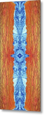 Fire And Ice - Digital 2 Metal Print by Otto Rapp