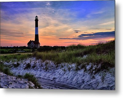 Fire Island Lighthouse Metal Print