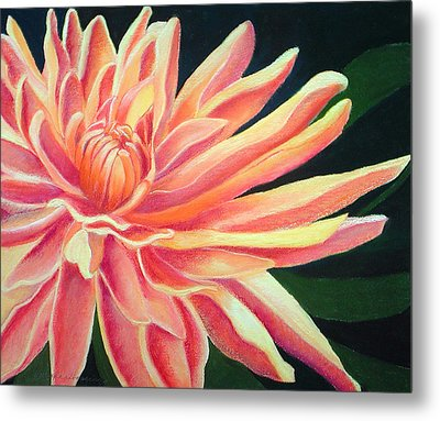 Fire Mum Metal Print by Lucinda  Hansen