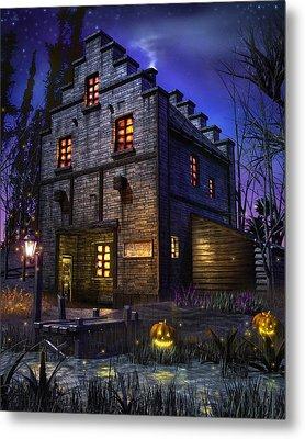 Firefly Inn Metal Print by Joel Payne