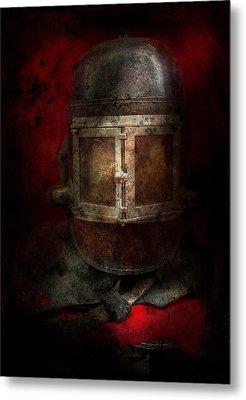 Fireman - The Mask Metal Print
