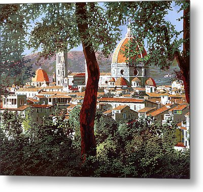 Firenze Metal Print by Guido Borelli