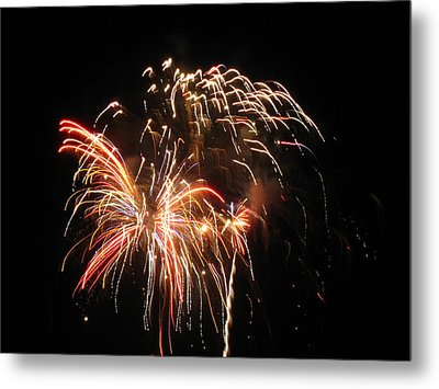 Firework 1 Metal Print by Michael Albright